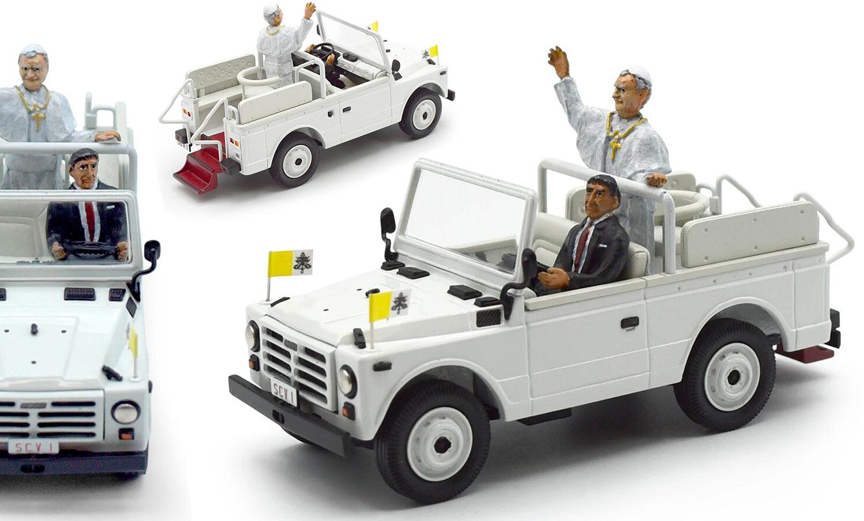 1/43 Fiat Campagnola papamobile Jean-Paul 2