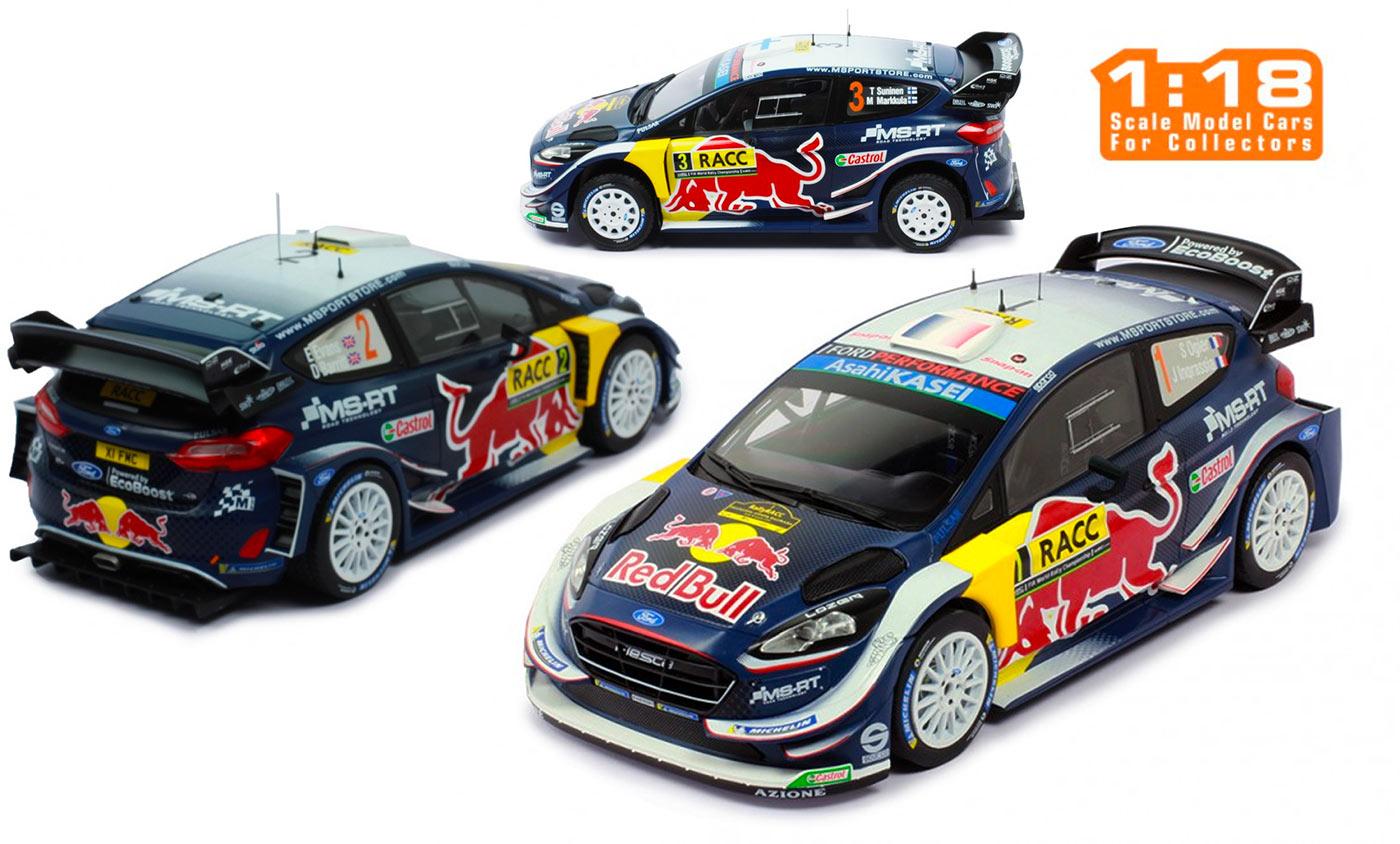 1/18 Ford Fiesta WRC Rallye 2018 1/18