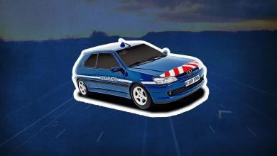 Inventaire Peugeot 306 S16 gendarmerie