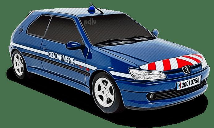 Peugeot 306 Gendarmerie 20013758