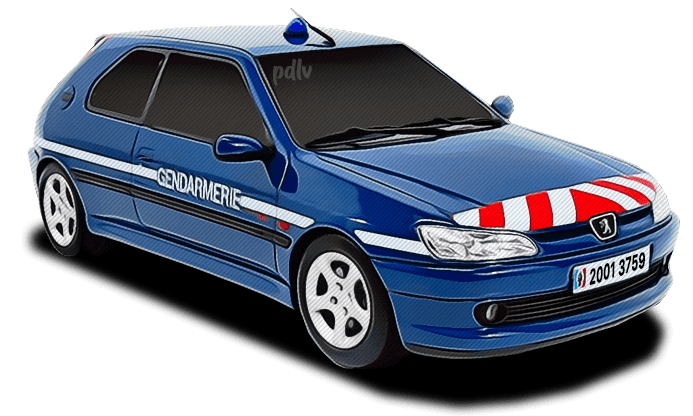 Peugeot 306 Gendarmerie 20013759
