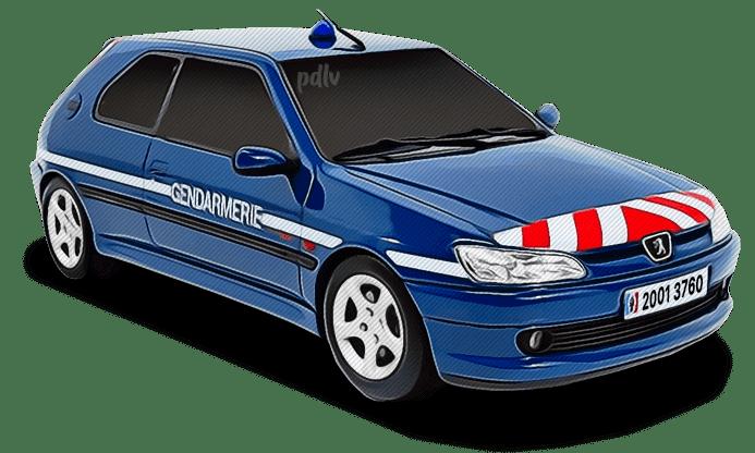 Peugeot 306 Gendarmerie 20013760