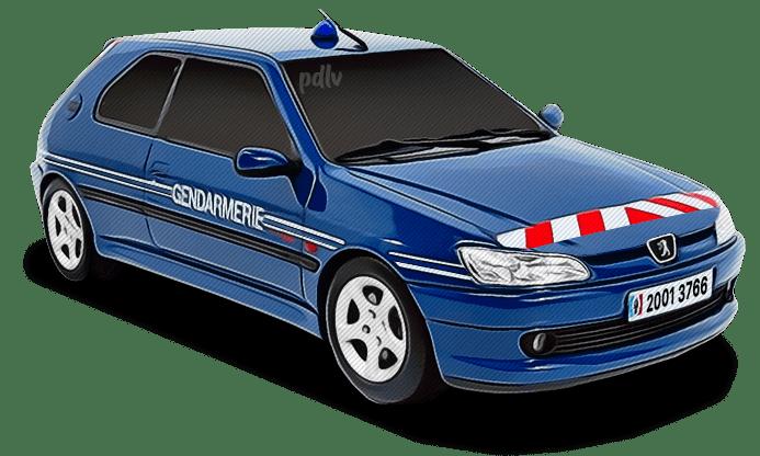 Peugeot 306 Gendarmerie 20013766