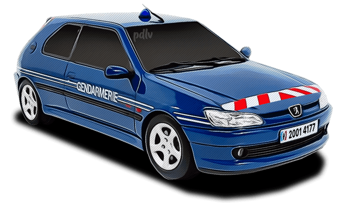 Peugeot 306 Gendarmerie 20014177