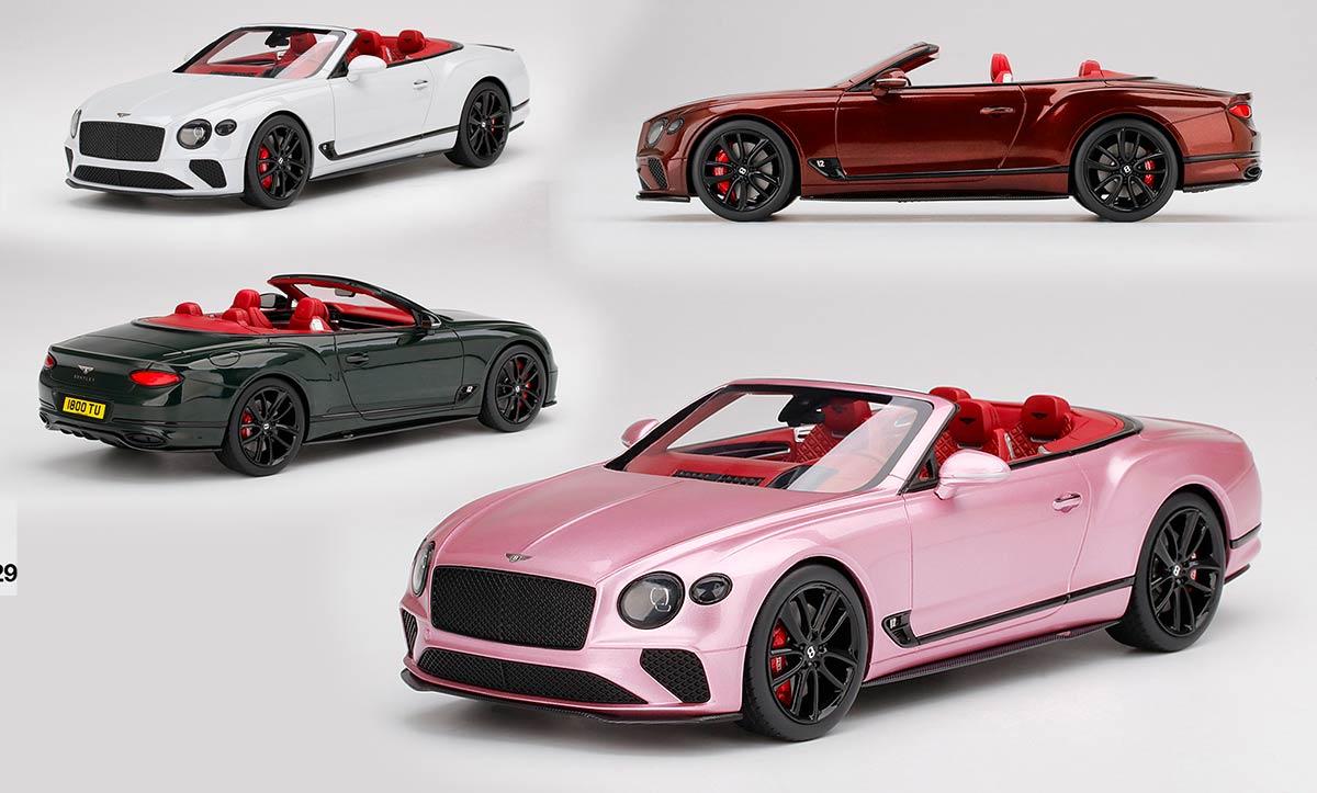1/18 Bentley Continental GT TopSpeed