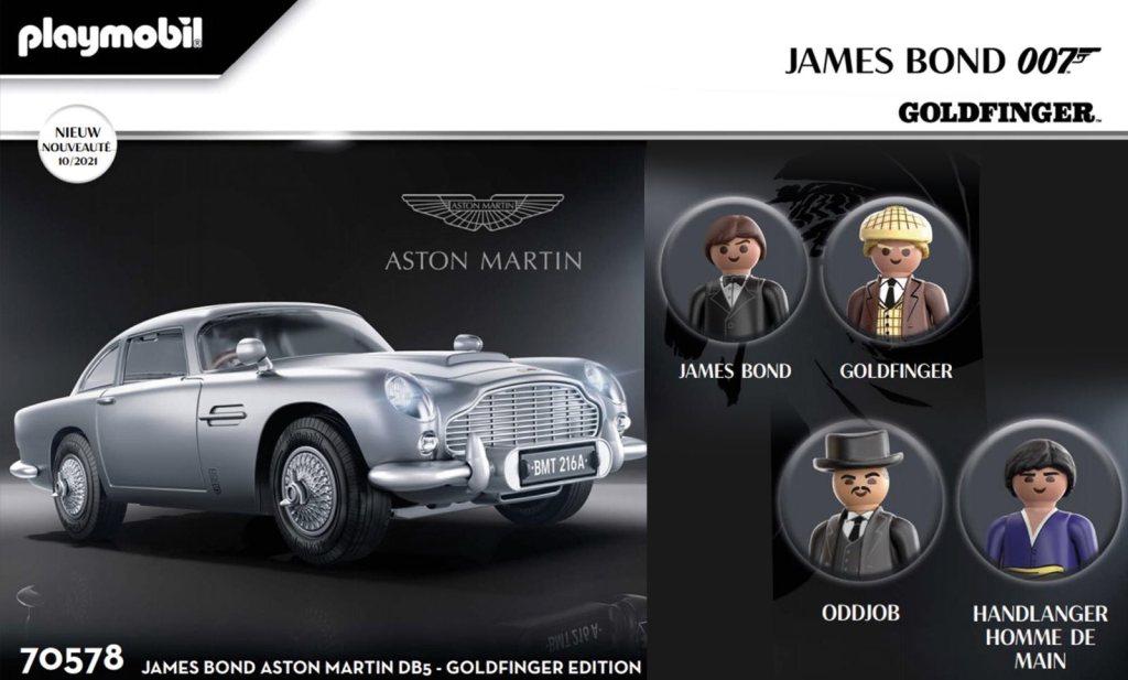 Playmobil 70578 Aston Martin DB5 James Bond