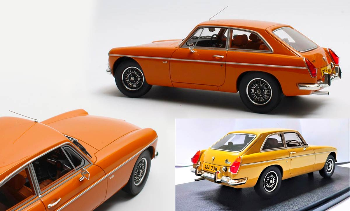 1/18 MGB GT V8 Cult Models