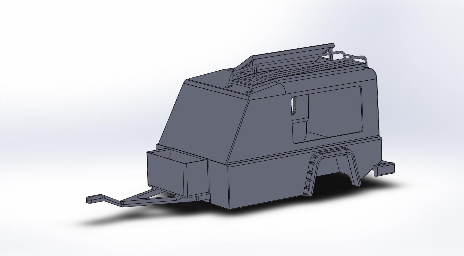 Remorque Land Rover Defender Steel Young