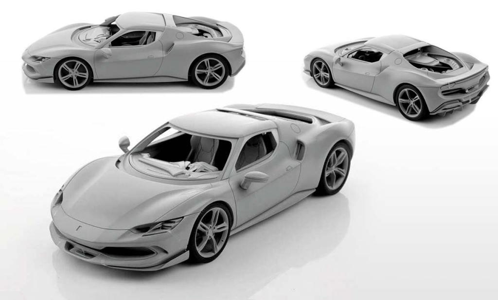 1/18 Ferrari 296 GTB MR Collection