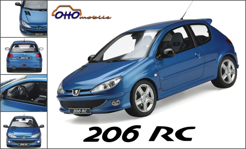 1/18 Peugeot 206 RC OttOmobile