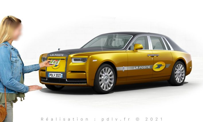 Rolls Royce Phantom La Poste PDLV