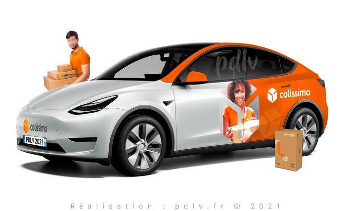 Tesla Model Y Colissimo