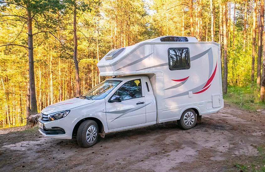 Lada Granta camping-car