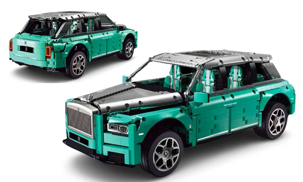 Rolls Royce Cullinan à construire