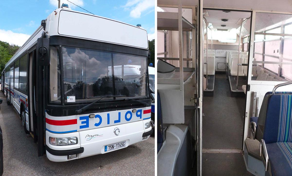 Bus Police Nationale à vendre enchères