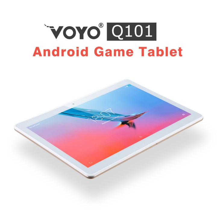Voyo Q101 K109   10 4G Tablet Android 6.0 2GB/32GB Dual Camera EU   Golden price in Nigeria