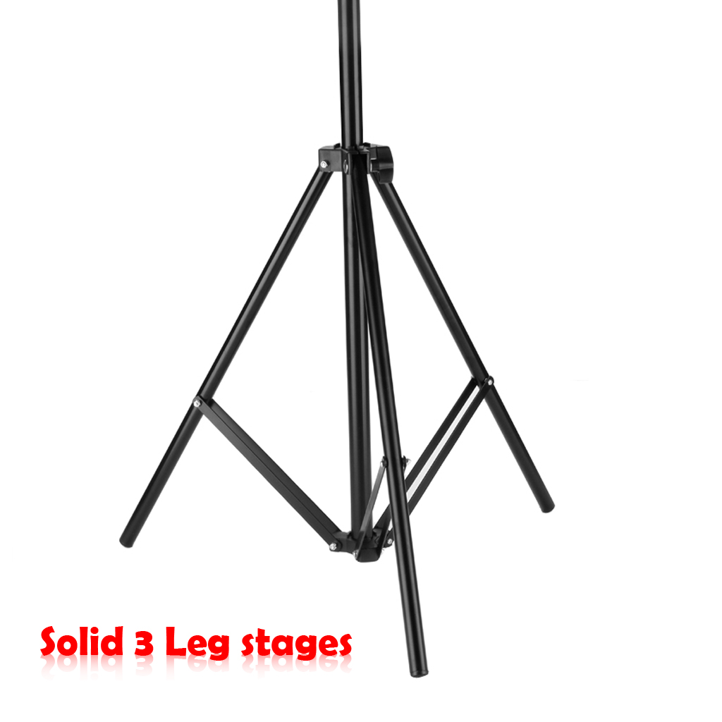 10x6 5ft Adjustable Photography Photo Background Stand Kit