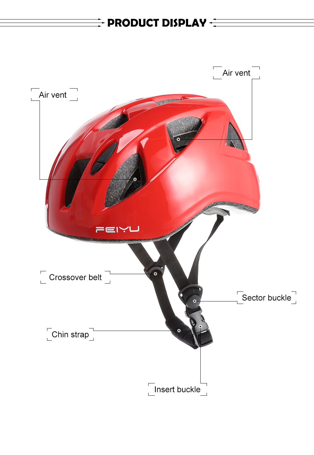 Generic Children Kids Sport Outdoor Cycling Riding Skating Safety Helmet Celadon price in Nigeria
