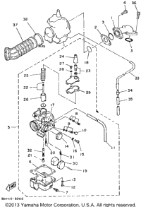 1986 Yamaha BADGER (YFM80S) Electrical 1 | Cheap Cycle Parts