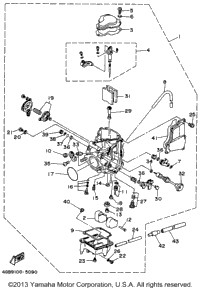 1996 Yamaha KODIAK 4WD (YFM400FWH) Shifter | Babbitts