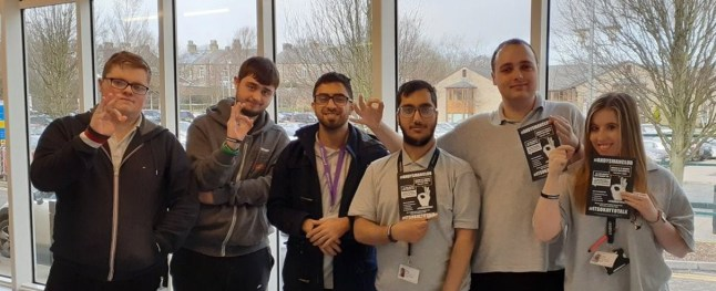 The Project SEARCH interns at Calderdale College