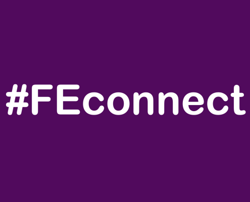 #Feconnect in purple