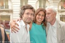 Christophe Ono-Dit-Biot, Myriam Kournaf, Philippe Sollers (président du prix 2009)