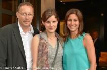 Jean-Paul Hirsch (éditeur P.O.L.), Lise Charles, Myriam Kournaf