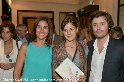 Myriam Kournaf, Lise Charles et Christophe Ono Dit Biot
