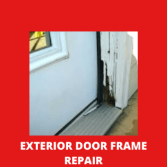 exterior door frame repairs fort worth texas