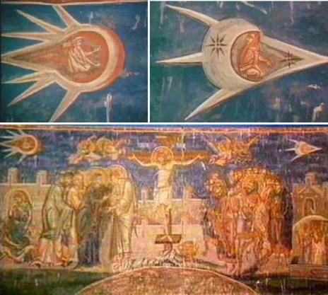 「キリスト 絵 UFO」の画像検索結果