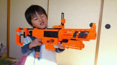 「ナーフ銃 子供」の画像検索結果