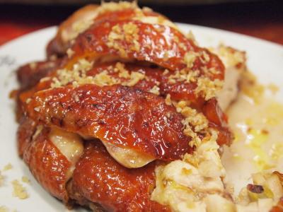 東寶小館の風沙鶏