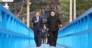 "USB ··· 文에 맞는 도보 다리 퍼즐 ""발전소""는 북한 원자력 발전소 계획인가?"