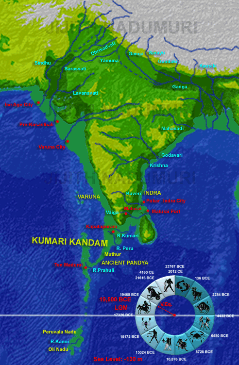 ... 꿈 : Kumari Kandam - The sunken land mass from the Indian continent