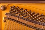 Piano pin block and tuning pins