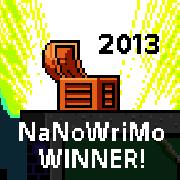 NaNoWriMo Win!
