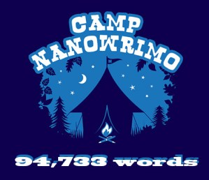 CampNano Draft #1 complete at 94,733 words