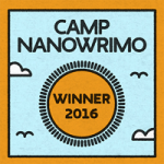 Camp Nano for the Win! Ringing in at 117,575 words