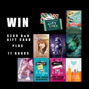 $200 Gift Card Plus 17 YA Books