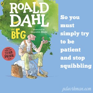 Excerpt from The BFG