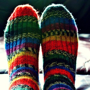 Why wear odd socks?