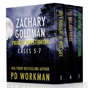 Zachary Goldman Private Investigator Cases 5-7