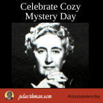 Celebrate Cozy Mystery Day with me!