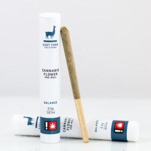 Balance East Fork Cultivars Cannabis Pre-Roll | Green Box
