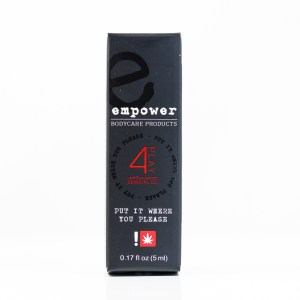 Empower Bodycare 4Play Cannabis Sensual Lube | Green Box