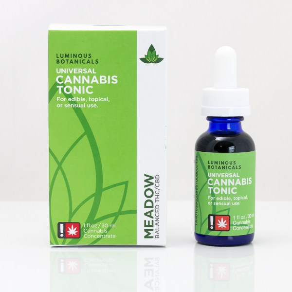 Luminous Botanicals Meadow Universal Cannabis Tonic