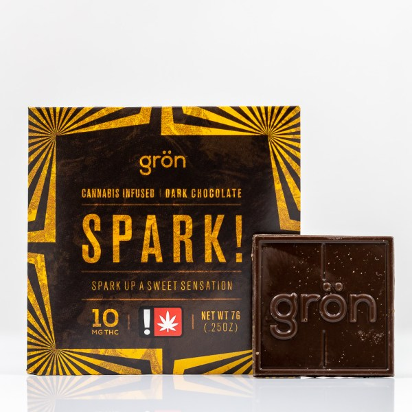 Spark! Dark Chocolate | Green Box