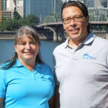 Heather O'Leary and Chris Laird of Portland In-Home Care