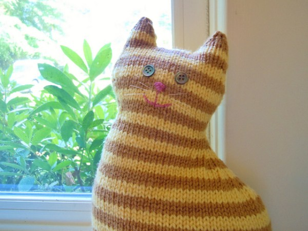 free cat knitting patterns # 75